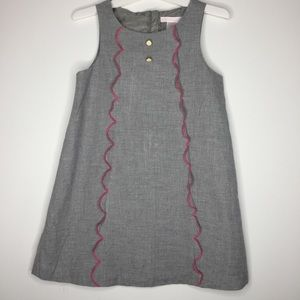 Janie & Jack girl's sz 4 sleeveless a-line jumper.